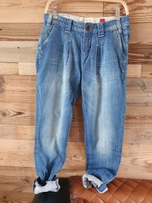 QS by s.Oliver Jeans larghi blu
