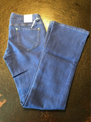 Simply Chic Boot Cut Jeans blue
