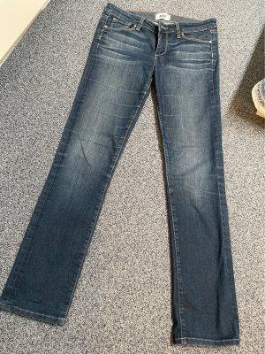 Paige Jeans elasticizzati blu scuro