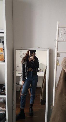Asos Jeans boyfriend bleu foncé