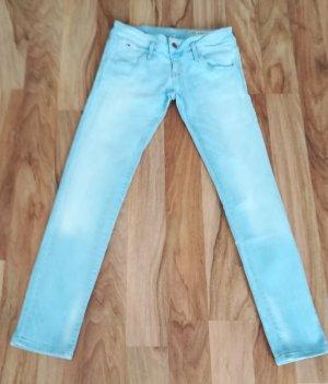 Hilfiger Denim Jeansy z wysokim stanem jasnoniebieski-jasnoniebieski