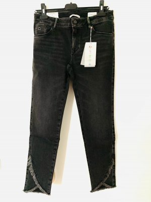 Dawn 7/8 Length Jeans black-anthracite