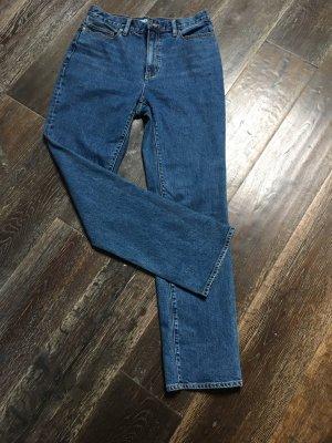 Lands' End Jeans a vita alta blu