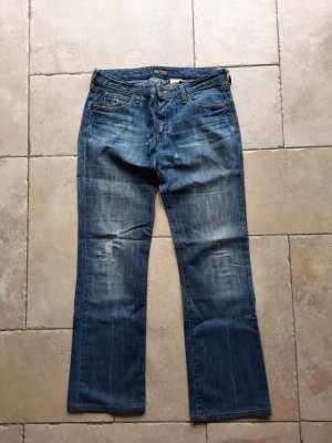 Armani Jeans a gamba dritta blu fiordaliso