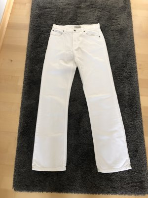 Cross Low Rise Jeans white