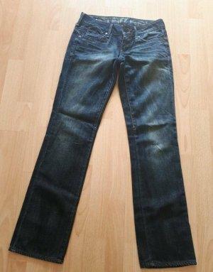 G-Star Jeans met rechte pijpen donkerblauw