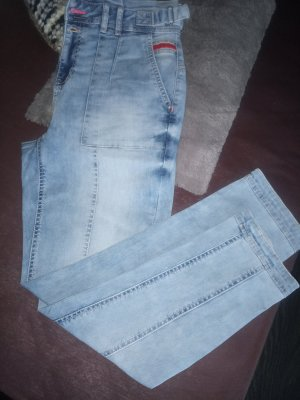 Street One Boyfriend Jeans neon blue