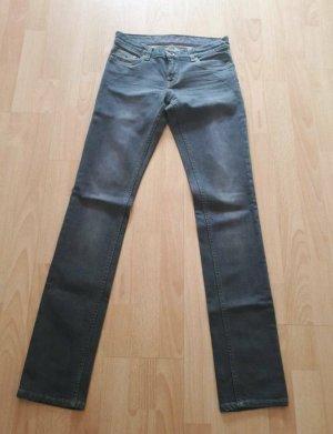 Tommy Hilfiger Jeans a gamba dritta grigio ardesia