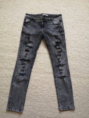Cipo & Baxx Stretch Jeans multicolored
