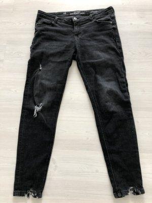 C&A Clockhouse Jeans skinny nero Tessuto misto