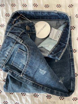 SassyClassy Jeans bootcut bleu foncé