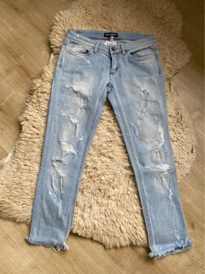 Dolce & Gabbana Low Rise jeans azuur