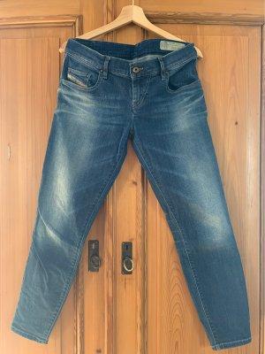 Diesel Industry Jeans a 7/8 blu-blu pallido
