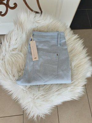 Schumacher Jeans cigarette bleu clair-bleu azur