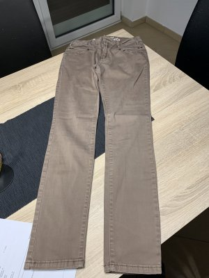 Buena Vista Tube jeans grijs-bruin
