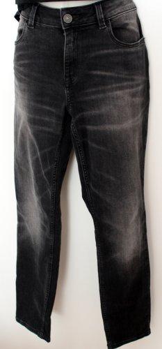 Jeans, dunkelgrau