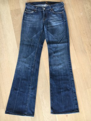 7 For All Mankind Boot Cut spijkerbroek blauw