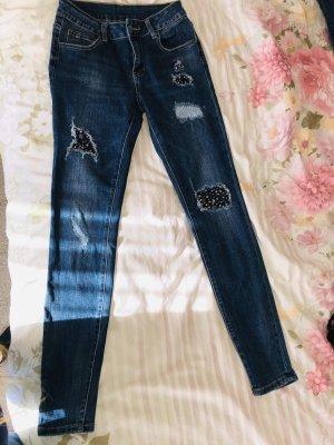 TK Maxx 3/4 Length Jeans slate-gray
