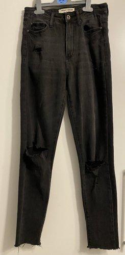 Tally Weijl Jeans de moto noir