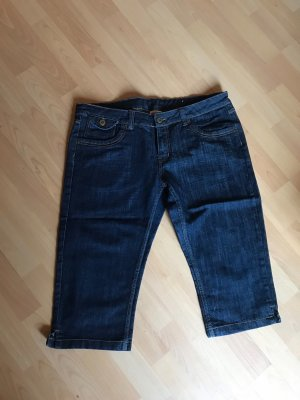Colors of the world Jeans a 3/4 blu scuro