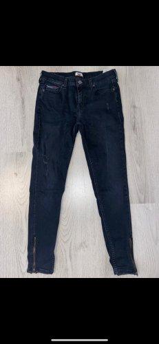 Tommy Hilfiger Denim Jeans skinny nero-blu scuro