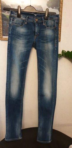 LTC pantalón de cintura baja azul