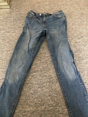 Primark Wortel jeans leigrijs