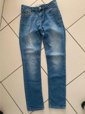 mavi UPTOWN Jeansy z prostymi nogawkami chabrowy