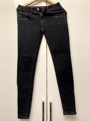 seventyseven Stretch jeans zwart