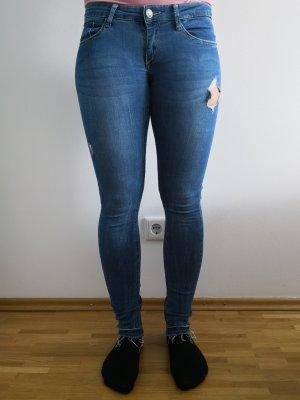 Tally Weijl Jeans a sigaretta blu Cotone