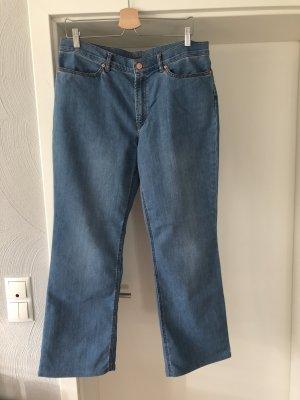 Escada Sport Jeansy z prostymi nogawkami niebieski-jasnoniebieski