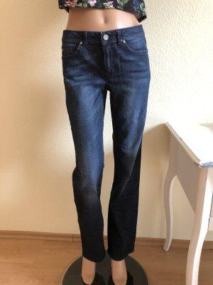 Jeans Esprit Collection Straight schwarz blau 34