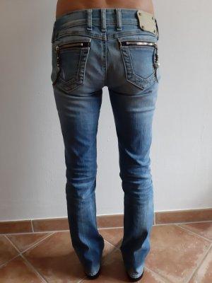Replay Jeans stretch bleu