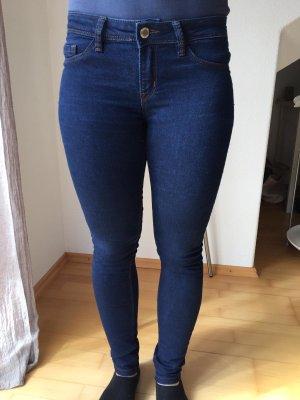 Tally Weijl Jeans cigarette bleu foncé-bleu