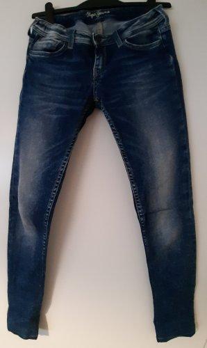 Pepe Jeans Stretch Jeans steel blue-cornflower blue