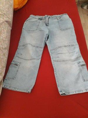 mia linea Jeans a 3/4 azzurro