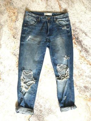 Zara Baggy Jeans blue