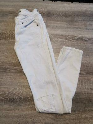 Jeans elasticizzati bianco