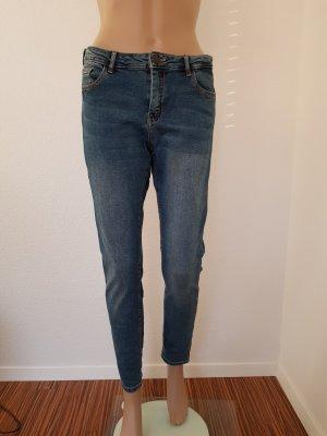 Pimkie Hoge taille jeans blauw-donkerblauw