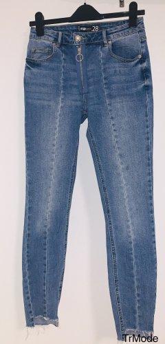 FB Sister Jeans skinny blu acciaio