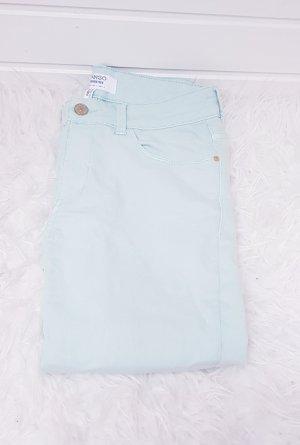 Mango Jeans slim turquoise-vert menthe