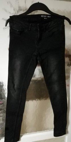 Jeans stretch gris foncé