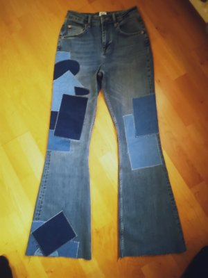 Urban Outfitters Denim Flares blue