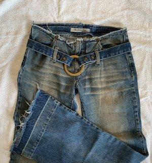 Jeans Fornarina, Gr 28, neuwertig, ungetragen, Vintage, Schlaghose, NP 120€