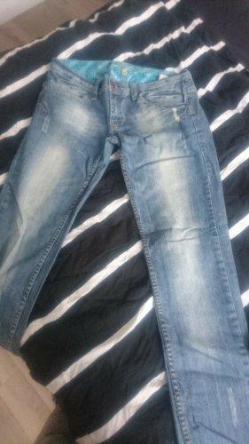 Fresh made Jeansy biodrówki niebieski