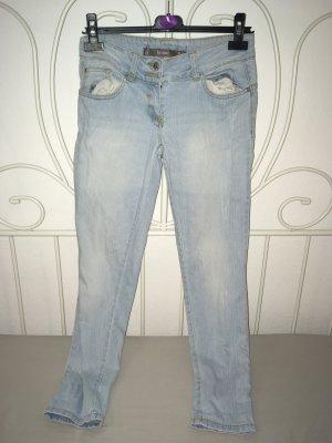 Tube Jeans slate-gray-steel blue