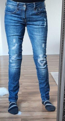 G-Star Spodnie typu boyfriend jasnoniebieski