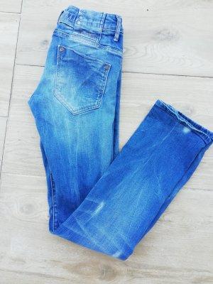G-Star Jeans a sigaretta blu neon-blu acciaio
