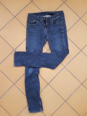 G-Star Jeansy z prostymi nogawkami niebieski-ciemnoniebieski Denim