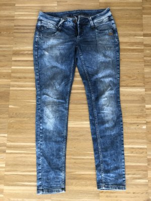 Gang Low Rise jeans azuur